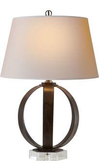 Metal Table Lamp, Circa