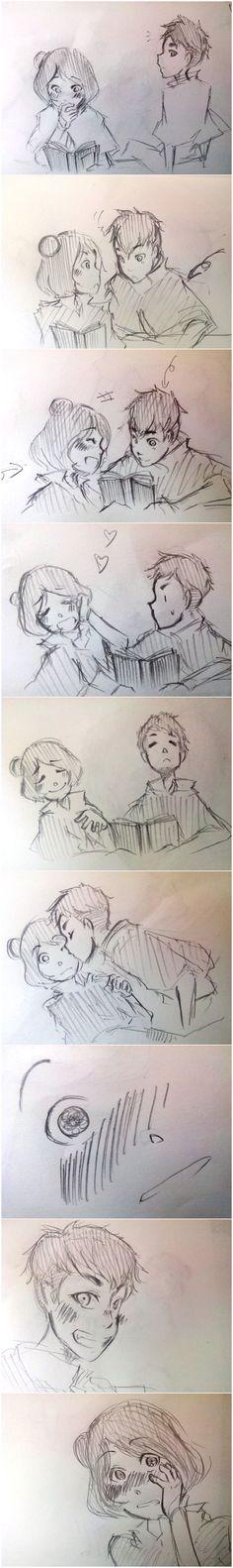 Romance? -kainora by aogs47777