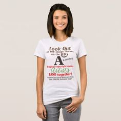 Stop Copyright Infringement Statement Shirt - image gifts your image here cyo personalize