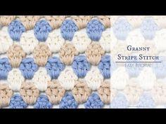 Hopeful Honey | Craft, Crochet, Create: How To: Crochet The Granny Stripe Stitch - Easy Tutorial