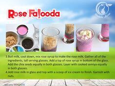 Quick Bite - Rose Falooda