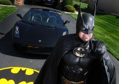 There is a guy who lives in Maryland who dresses like Batman... HAS A BATMOBILE... and goes to visit sick kids in hospitals, as Batman.