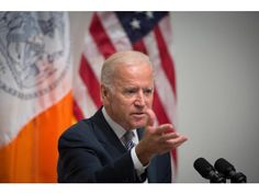 Vice President Joe Biden, pictured Thursday, Sept. 10, 2015, in New York, will speak Wednesday, Sept. 16, 2015, at the Solar Power International Conference in Anaheim.