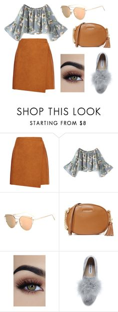 """Untitled #6"" by trsca on Polyvore featuring MSGM, MICHAEL Michael Kors and Steve Madden"