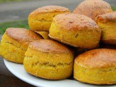 Recept: Dýňové bochánky (místo másla olej)