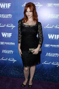 Christina Hendricks attends the #Variety and #WomeninFilm Pre-Emmy Event at #Scarpetta on Friday, Sept. 21, 2012, in Beverly Hills