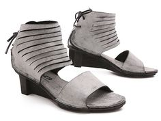 Sliced up front and tied up in back, the Trippen Lace makes an impact everywhere it walks! xo, Ped Shoes