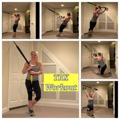 💫Today we're doing a TRX workout. TRX is one of my favorite pieces of equipment. You can do so much on it! Trx Workout Plan, Trx Full Body Workout, Workout For Flat Stomach, Workout Videos, Workout Fitness, Yoga Videos, Trx Workouts For Women, Fun Workouts, At Home Workouts