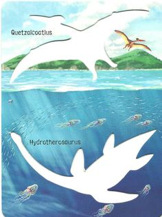 Los duendes y hadas de Ludi: Dinosaur Stencil Book