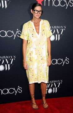 Creative director and president for J.Crew Jenna Lyons attends Macy's Presents…