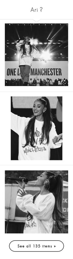 """""""Ari ♕"""" by princess-hood ❤ liked on Polyvore featuring prayfortheworld, PrayforManchester, OneLoveManchester, jewelry, earrings, ariana grande, ariana, hair, photos and pictures"""