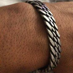 Welder Bracelet by JRCwelding on Etsy Welder Bracelet by JRCwelding on Etsy Braided Bracelets, Ankle Bracelets, Silver Bracelets, Bracelets For Men, Men's Fashion Jewelry, Fashion Bracelets, Men's Jewelry, Mens Silver Jewelry, Bracelet Sizes