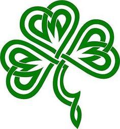 celtic clover stencils - Google Search