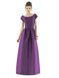 classic and modern winter bridesmaids dress - fab for the winter occasion