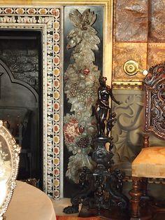The Spanish Room Fireplace - Kingston Lacy - Dorset - England