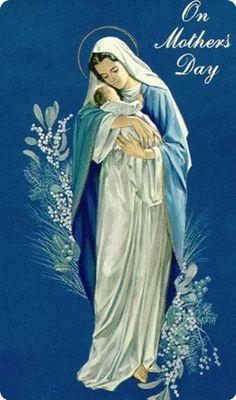Moeder Maria met Jezus kind..