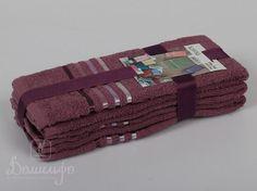 Набор полотенец BALE светло-лавандовый 30х50 (3шт) от Karna (Турция) - купить по низкой цене в интернет магазине Домильфо