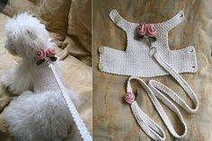 Dog harness - Pet wedding - Dog accessories.