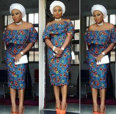Ankara Xclusive: Ovation Ankara Styles 2018 : Best Of Best Ankara Styles Collection African Dresses For Women, African Attire, African Fashion Dresses, African Wear, African Women, African Outfits, Ankara Fashion, African Style, African Clothes