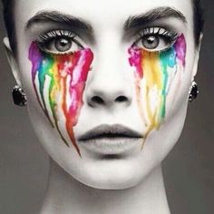 Crying colors