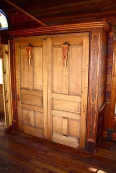 Painted Lady Victorian Tiny House Interior Storage