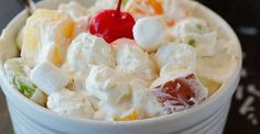 Ambrosia Salad is a long time favorite salad that has a somewhat old fashioned attachment. When we t ...