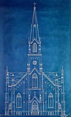 """Complete Church Plans by E. J. Gier, Proposed 1937, Estimated by Barrett And Logan."""