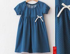 """Kleider - Pünktchenkleid  """"Lieselotte"""" Einschulung - ein Designerstück von katharina-meintke-kids bei DaWanda"""