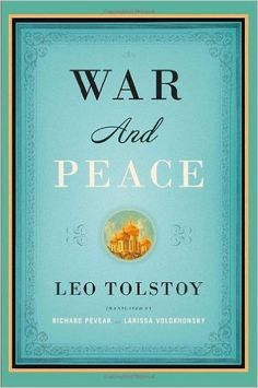 Amazon.com: War and Peace (Vintage Classics) (9781400079988): Leo Tolstoy, Richard Pevear, Larissa Volokhonsky: Books
