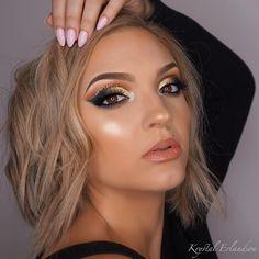 Krystal Erlandson (@krystalerlandson) • Instagram photos and videos anastasia beverly hills abhXamrezy amrezy highlighter glowing skin glitter cutcrease subculture palette summer glow glam makeup