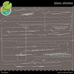 Amy Martin * Blanc Stitches $3.99