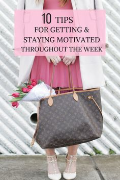 10 tips for getting and staying motivated