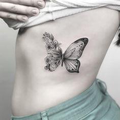 410 Melhores Imagens De Tatuagem De Flor E Borboletas