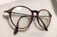 a0840ec9449d Giorgio Armani Designer Eyeglasses - Tortoise Shell   Bronze Brushed Metal  Round - Men s - Unisex - Model  128-703 - RX Glasses - Italy