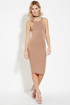 Racer-Front Bodycon Dress $27.90