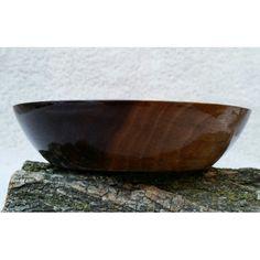 "Custom Black Walnut bowl. 5.25 "" diameter by 1.25 "" deep. Handcrafted. One of a kind."
