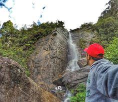 Chasing Waterfall in Nuwara Eliya Sri Lanka . . .  #beingatraveler #bilalazam #blogger #travelblogger #srilanka #nuwaraeliya #waterfall #hike #hiking #backpacker #explorer #adventurist #traveler #travel #world #love #nature #beauty #photooftheday #travelg