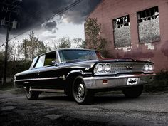 1963 Ford Galaxie 500 XL front