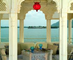 Taj Lake Palace, a boutique hotel in Udaipur - Page Lake Garden, Outdoor Pool, Outdoor Decor, Palace Hotel, Most Romantic, Lake City, Hotels And Resorts, Luxury Hotels, A Boutique
