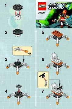 lego instructions | LEGO Mini Mech Set 30230 Instructions Viewer | Brick Owl - LEGO ...