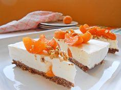 Cheesecake con albicocche e cereali - Apricots and cereals cheesecake