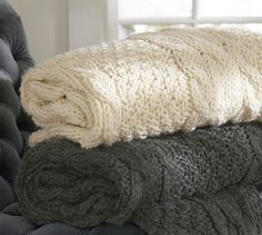 Chunky Cable Knit Oversized Throw  http://rstyle.me/n/dzzwppdpe