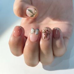 14 gorgeous but easy nail art designs you can not afford to miss 3 Simple Nail Art Designs, Easy Nail Art, Nail Designs, Cute Nails, Pretty Nails, Hair And Nails, My Nails, Butterfly Nail Art, Kawaii Nails