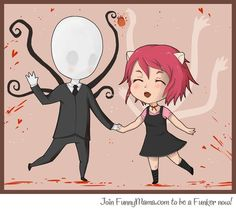 Best Friends Forever- Elfen Lied x slenderman f5391509b8