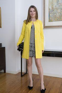 yellow coat tara jarmon