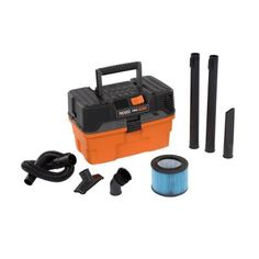 RIDGID 4.5-gal. Wet/Dry Vacuum-WD4522 at The Home Depot