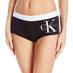 Calvin Klein Women's Logo Cotton Boyshort - http://www.darrenblogs.com/2016/12/calvin-klein-womens-logo-cotton-boyshort/