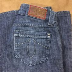 ANTHROPOLOGIE LEVEL 99 JEANS NWOT. Medium rinsed pair of flared premium denim by ANTHROPOLOGIE. Level 99 style. Size 27. Very wide leg. They measure 11 inches across. Inseam 29 Anthropologie Jeans Flare & Wide Leg