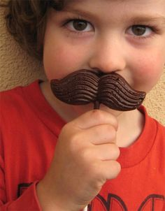I'm thinking... Just for Fun~ Chocolate {Presidential} Moustache Lollies for the 4th of July✯ lol!