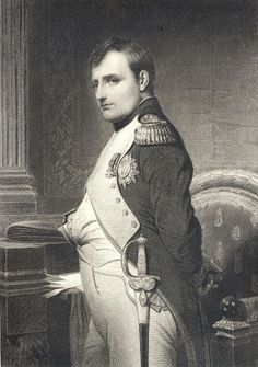 """""""Napoleon in His Study,"""" engraved by S.A. Schoff, after the painting by Paul Delaroche, published in """"French Pictures with Pencil and Pen"""", De Colange, Leo, 1879, collection of Jonathan Small."""